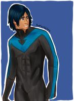 Nightwing by batbobbles