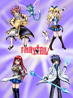 Fairy Tail Poster by WhiteMageOfTermina