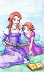 Mother and Daughter by whenyoubelieve17