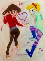 Marcia Diaz X Comet Dragonfly (Starco #3) by Otakuofeverything