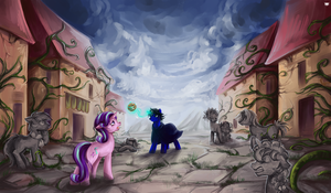 COMM: Silent Village by MadBlackie