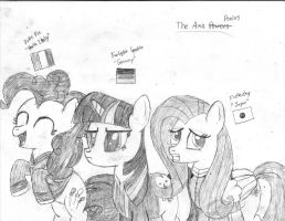 APiM: The Axis Ponies by postcrusade