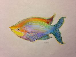 Study - Colorful Fish by ResidentFrankenstein