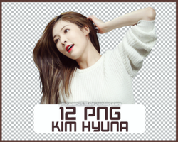 Pack PNG #136: 4MINUTE's HyunA by jimikwon2518