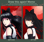 Draw it again: Blake Belladonna by Tamakichi