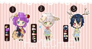 SET ADOPTS ~ ! [POINTS / OPEN] by HimeChie