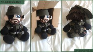Naked Snake Plushie by Belle43