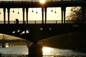 Bridge in the light by Heurchon