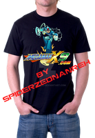 Megaman X Shirt by SpiderZed