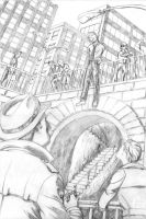 Hanging - Pencils by CrazyChucky