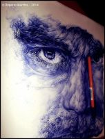 Hyper Realistic Ball Point Portrait by SirMartinezKebechet
