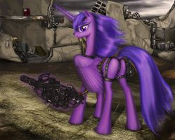 FoE: PH - Lacunae (Wasteland) by RinaSunshine