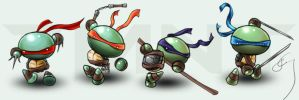tmnt.ii...? by luminoire