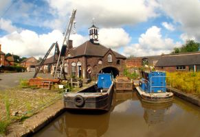 barge yard by smevstock