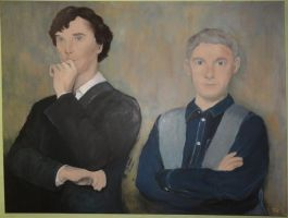 Sherlock Painting by Thepiedsniper