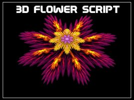 3D Flower Script by travmanx