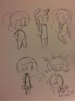Bubblemotions sketchies by BeeTrue