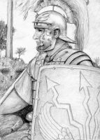 Roman Soldier by dashinvaine