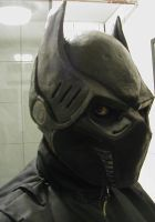 BATMAN BATTLE MASK by lionback