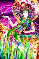 The Moon Dance of Dewi Sri by lilitus