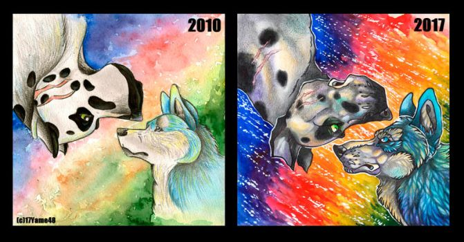 redrawing old art by Ha--Des