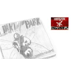 Linkin Park Cover Drawing by Black-Metz
