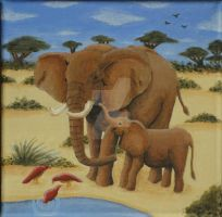 Elefant Painting by future--art