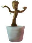 Groot by Night-of-Void