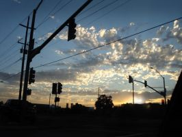 Light, Street and Sun by Scarecrowlover