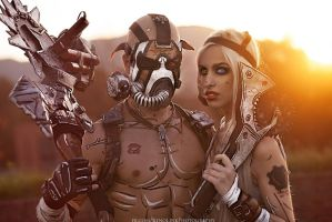 Psycho Preview from Lucca \ Borderlands Cosplay by LeonChiroCosplayArt