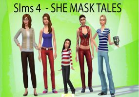 Sims 4 - She Mask Tales - Cover by bambucea09