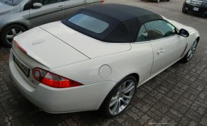 Jaguar XKR Convertible by ShadowPhotography