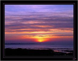 First sunset in 2008 - 4 by J-Y-M