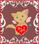 Valentine Kitty by Paramnesia