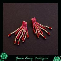 Royal red dangliez by green-envy-designs