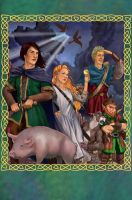 Chronicles of Prydain Box by saeriellyn