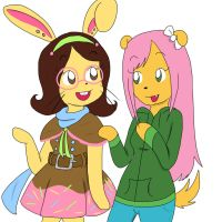 Maggie and Shugar by Shellybelly95