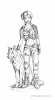 Fallout New Vegas : Sketch by Art4Games