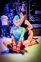 MFA 2014 - Cammy White and Chun Li by OniksiyaSofinikum