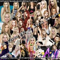Avril Lavigne PNG Pack by ASMH