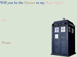 Doctor Who Valentine II by hallyboo123