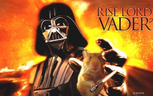 Vader with hamster by MoNyOh