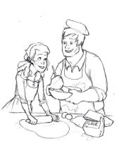 Anastasia and the Baker by TeddysTwin
