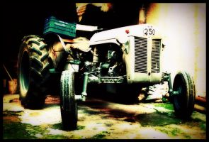 my grandfather's old tractor by kralis-dm