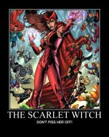 Scarlet Witch motivational by Magneto666666