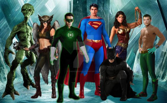 Justice League Movie Manip WIP by TimDrakeRobin