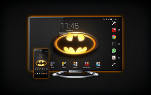 Batman homescreen by agoNITE