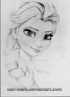 Frozen Elsa by Carl-Mark