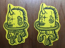 Graffiti Stickers #13 - New Characters by TNH-Ed-Hill
