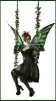 Absinthe fairy by Obsidian-Lace